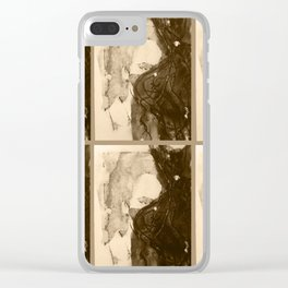 TedWarhol No.1 Clear iPhone Case