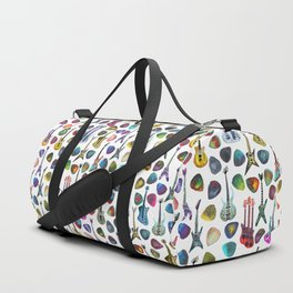 Guitars and Picks Duffle Bag