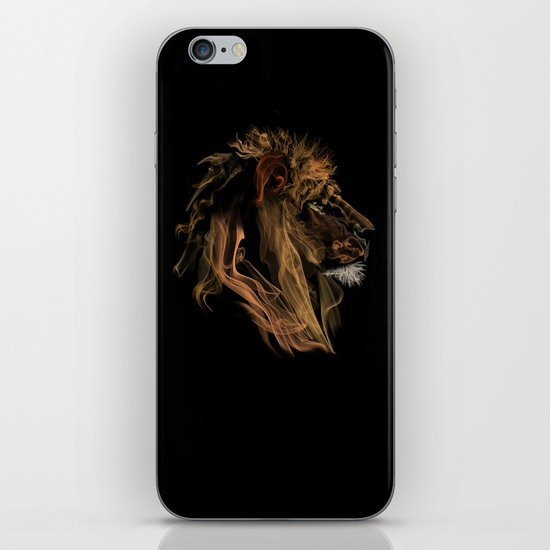 Where there's smoke there's fire! iPhone & iPod Skin