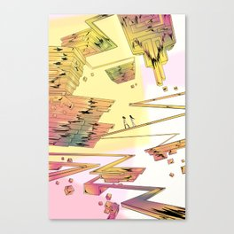 Bismuth Palace Canvas Print