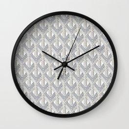 Goyard White Wall Clock