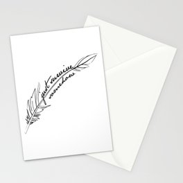 JSS feather Stationery Cards