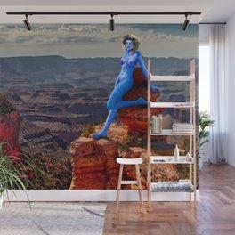 Annaya Sunbathing at the Grand Canyon Wall Mural
