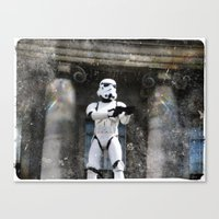 storm trooper Canvas Prints featuring Storm Trooper by BuyArt