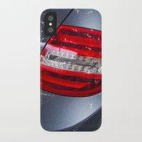 mercedes iPhone & iPod Cases featuring Mercedes-Benz C 180 Coupé Sport by Mauricio Santana