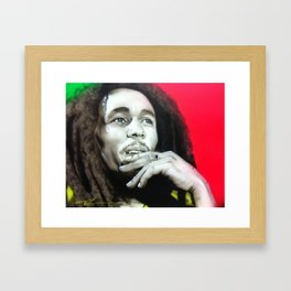 'Love The Life You Live - Live The Life You Love' Framed Art Print