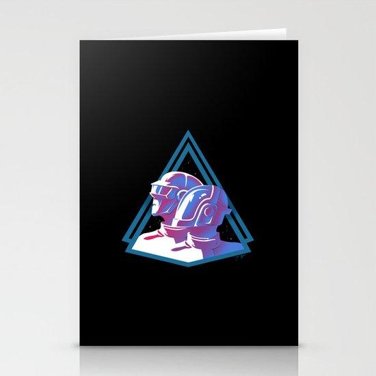 Daft Punk: Daft Deco Stationery Cards