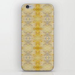 Gold & Silver Embellish Celeriac Pattern iPhone Skin
