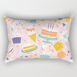 Birthday Celebration Rectangular Pillow