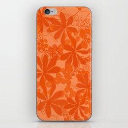 Florals Dreamstate Blue iPhone Skin