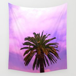 candy palm tree Wall Tapestry