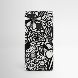 Inky Maximalist Florals Android Case