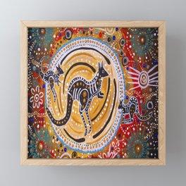 BORA THE KANGAROO  5 Framed Mini Art Print