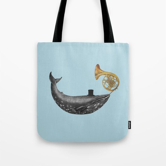 Whale Song - colour option Tote Bag