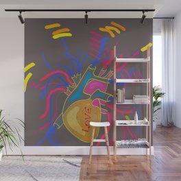 Love Pop Heart Wall Mural