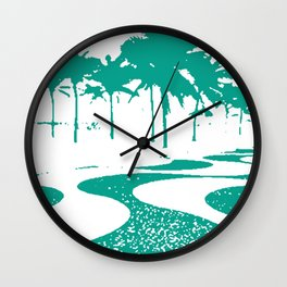 Copacabana beach, Rio de Janeiro, Brazil Wall Clock