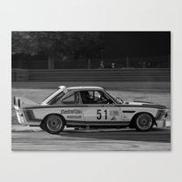 bmw Canvas Prints featuring BMW by Trackography