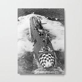 USS TECUMSEH (SSBN-628) Metal Print