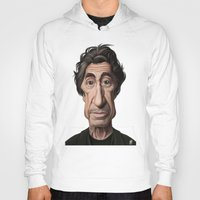 celebrity Hoodies featuring Celebrity Sunday ~ Al Pacino by rob art | illustration