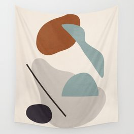 Abstract Shapes 11 Wall Tapestry