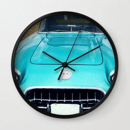 1960 Corvette Wall Clock