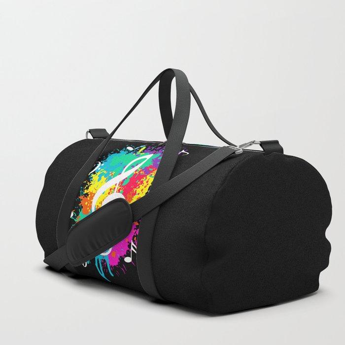 Music grunge Duffle Bag