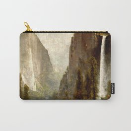 Bridal Veil Falls, Yosemite Valley 1892 Carry-All Pouch