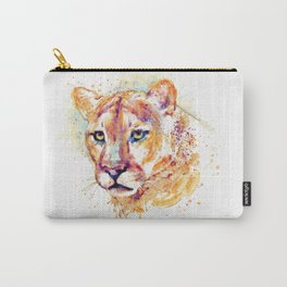 Cougar Head Carry-All Pouch