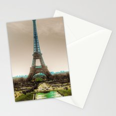 Paris Eiffel Tower Stationery Cards