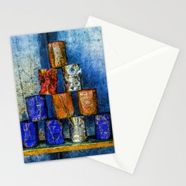 Soup Cans - Square Meal Stationery Cards