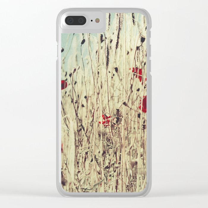 sUmmer touch Clear iPhone Case