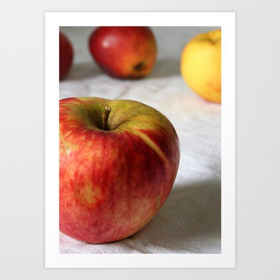 La Pomme Art Print