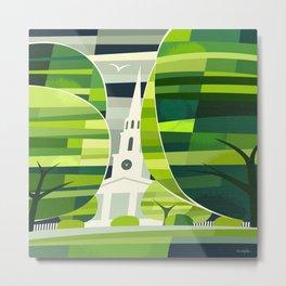 Town Green Metal Print