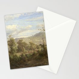 Louis Buvelot - Between Tallarook and Yea (1880) Stationery Cards