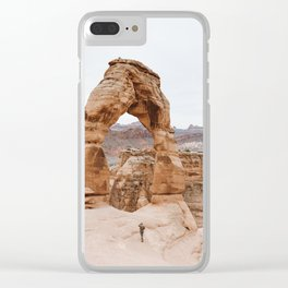 Early Morning at Delicate Arch Clear iPhone Case