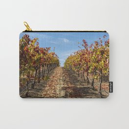 Fall Grape Vineyard Carry-All Pouch
