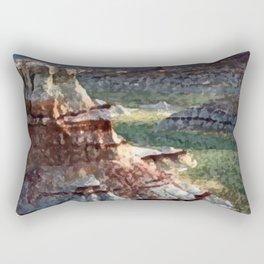 Painted Deserts of Arizona Rectangular Pillow