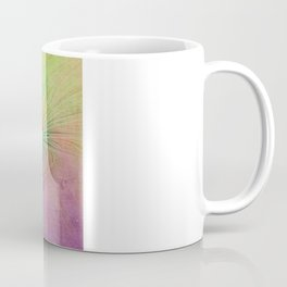 Two Tone Frac Abstract Coffee Mug