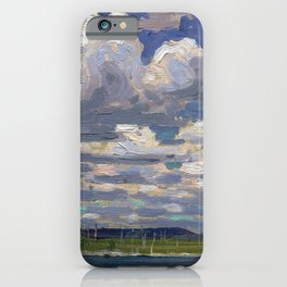 Tom Thomson - Summer Day - Canada, Canadian Oil Painting - Group of Seven iPhone Case