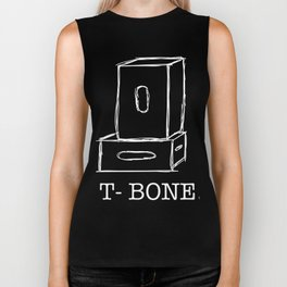 T-Bone Apple box (white) Biker Tank
