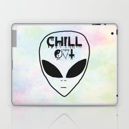 Chill Out Alien Laptop & iPad Skin
