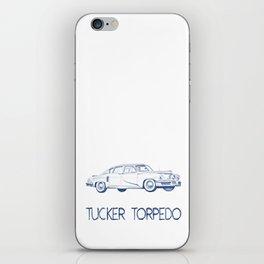 Pen drawing Tucker Torpedo iPhone Skin