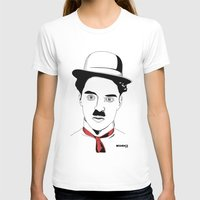 charlie chaplin T-shirts featuring Charlie Chaplin by ArpanDholi
