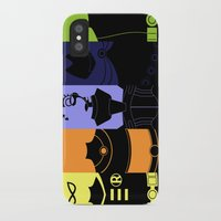 teen titans iPhone & iPod Cases featuring Vector Titans by Hybryda