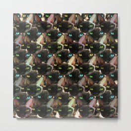 Sphynx cat pattern Metal Print