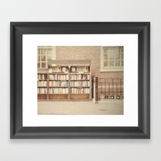 Dollar Books Framed Art Print