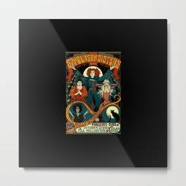SANDERSON SISTERS Metal Print