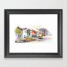 Venice Canals in California Framed Art Print