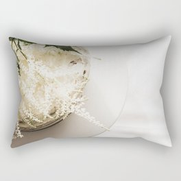 White Naked Cake Rectangular Pillow