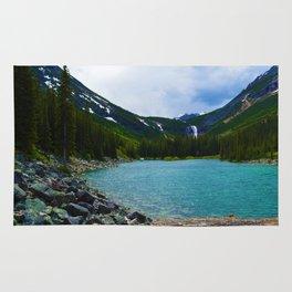 Geraldine Lakes Hike in Jasper National Park, Canada Rug